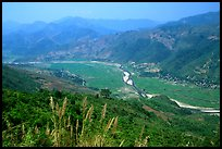 Valley of Lai Chau. Northwest Vietnam ( color)