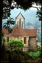 French church, Sapa. Sapa, Vietnam ( color)