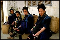 Black Hmong Women. Sapa, Vietnam ( color)