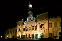 The old Hotel de Ville, one of finest examples of French colonial architecture. Ho Chi Minh City, Vietnam