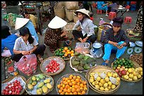 A variety of tropical fruit for sale. Ho Chi Minh City, Vietnam (color)
